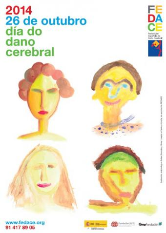 Cartel Día do Dano Cerebral 2014