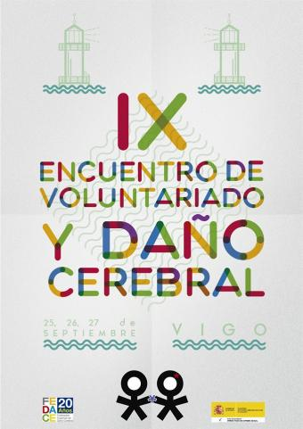 Cartel do Encontro de Voluntariado de FEDACE