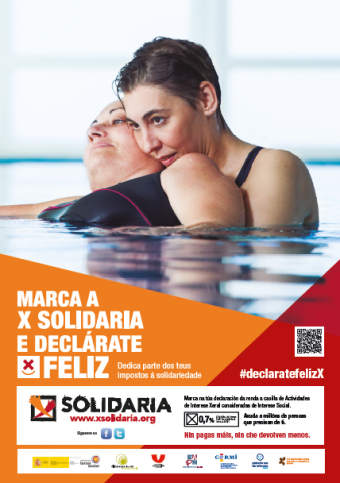 Cartel X Solidaria 2015
