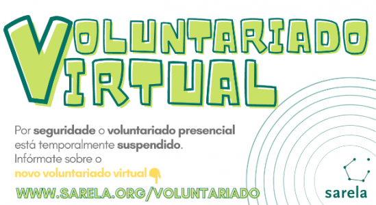 Bota a andar o voluntariado virtual de Sarela
